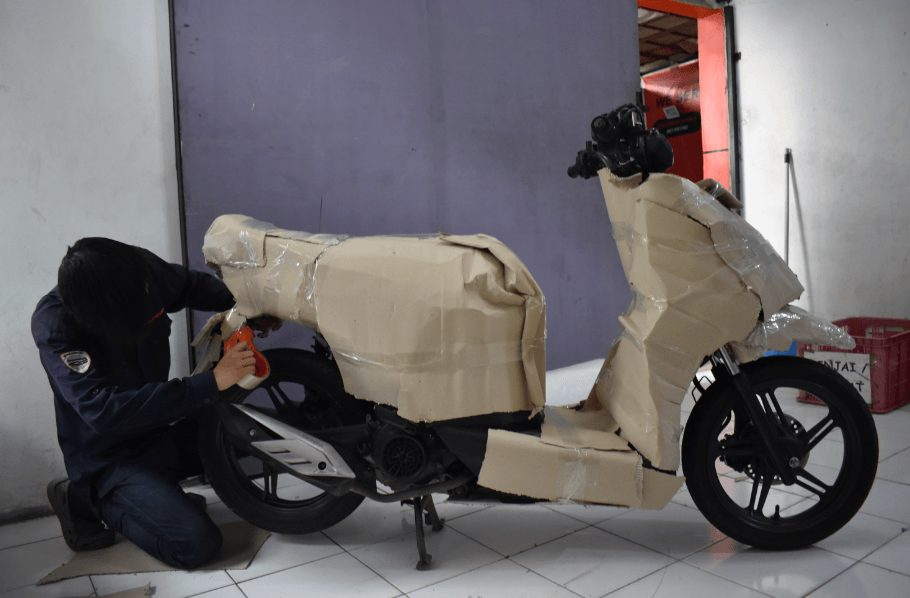 pengiriman motor dari medan ke bali