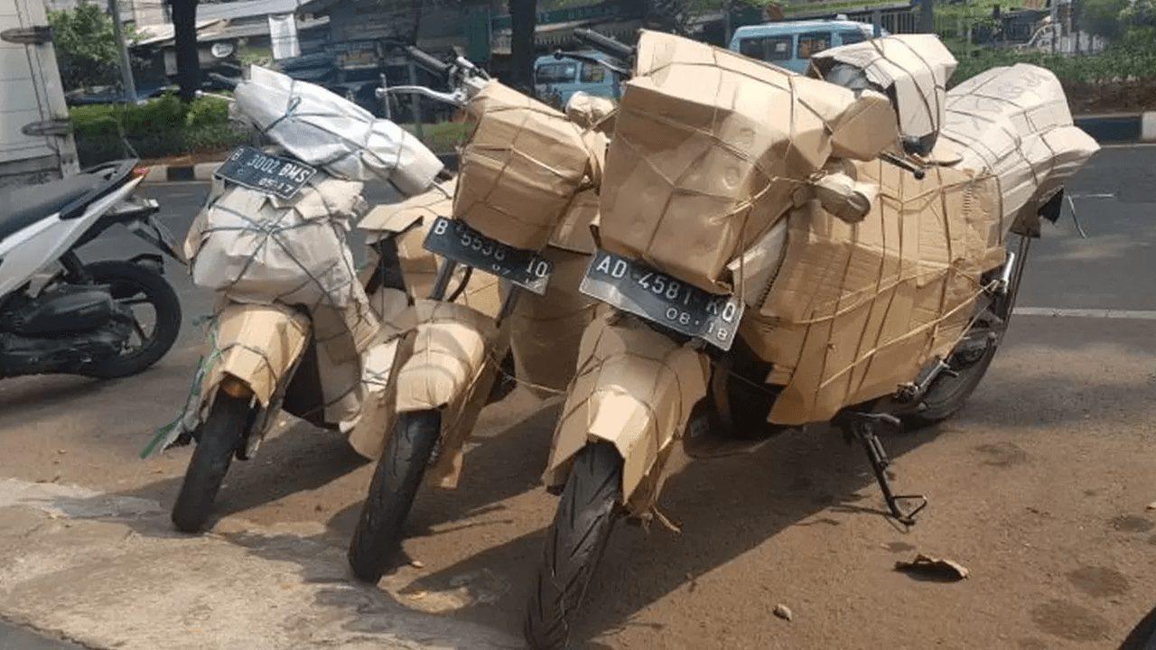 jasa pengiriman motor dari medan ke padang