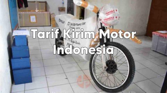 Tarif Kirim Motor ke Seluruh Indonesia